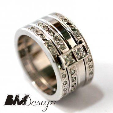 Obrączka ślubna z diamentami Rzeszów