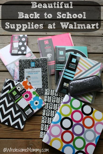 Super cute Back to School Supplies at Walmart...FOR LESS ...