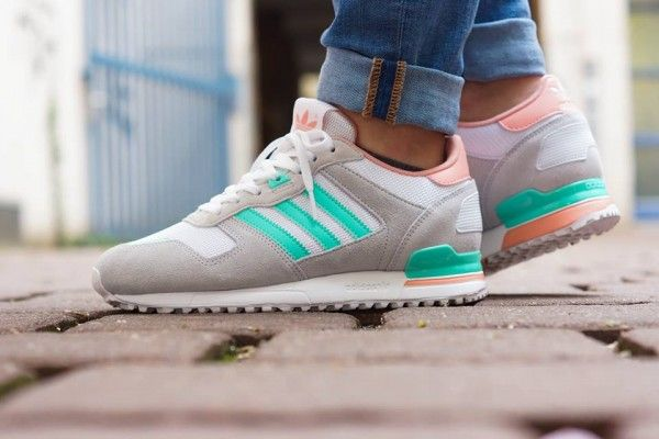 very sweet adidas xz 700 shoes with grey salmon and mint. Black Bedroom Furniture Sets. Home Design Ideas
