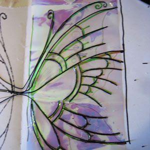 how to make fairy wings ooak dolls