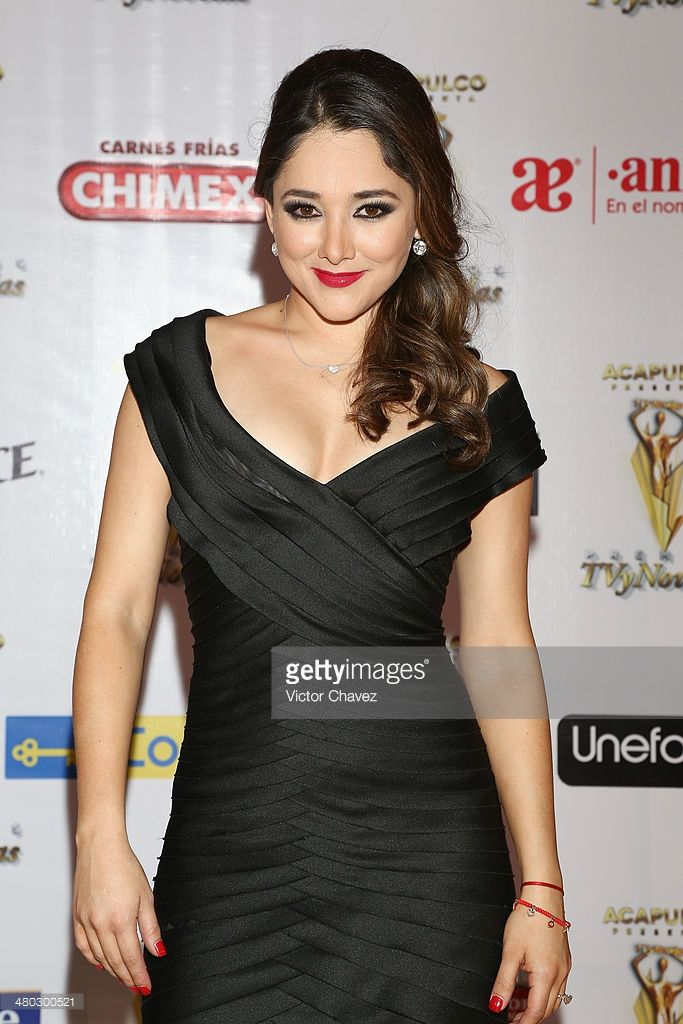 Sherlyn González attends the Premios Tv y Novelas 2014 at Televisa Santa Fe on March 23, 2014 in Mexico City, Mexico.
