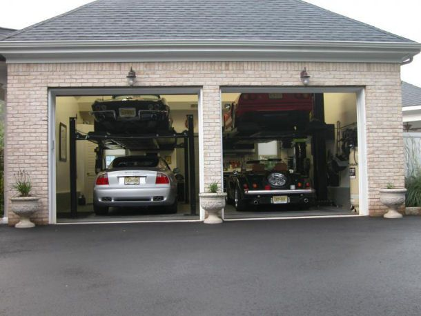 Best 25 garage lift ideas on pinterest diy garage for Garage plans with lift