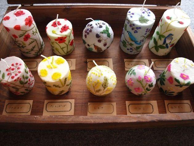 nuri 「植物採集 蝋燭と花の研究」