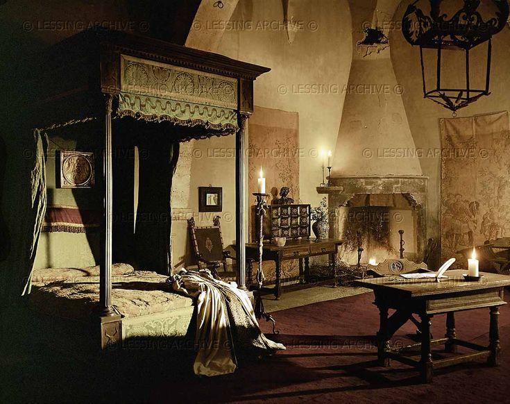 Bedroom of Lucrezia Borgia.
