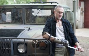 Preview wallpaper the walking dead, michael rooker, suv