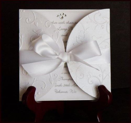 Wedding Invitation Ideas Using Cricut: Sample Expressions : Cricut Wedding  Invitations Cartridge.
