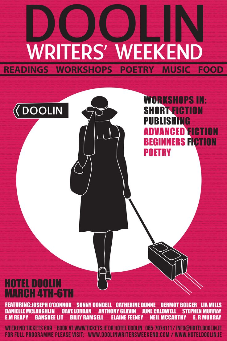 Doolin Writers' Weekend 4th-6th March 2016