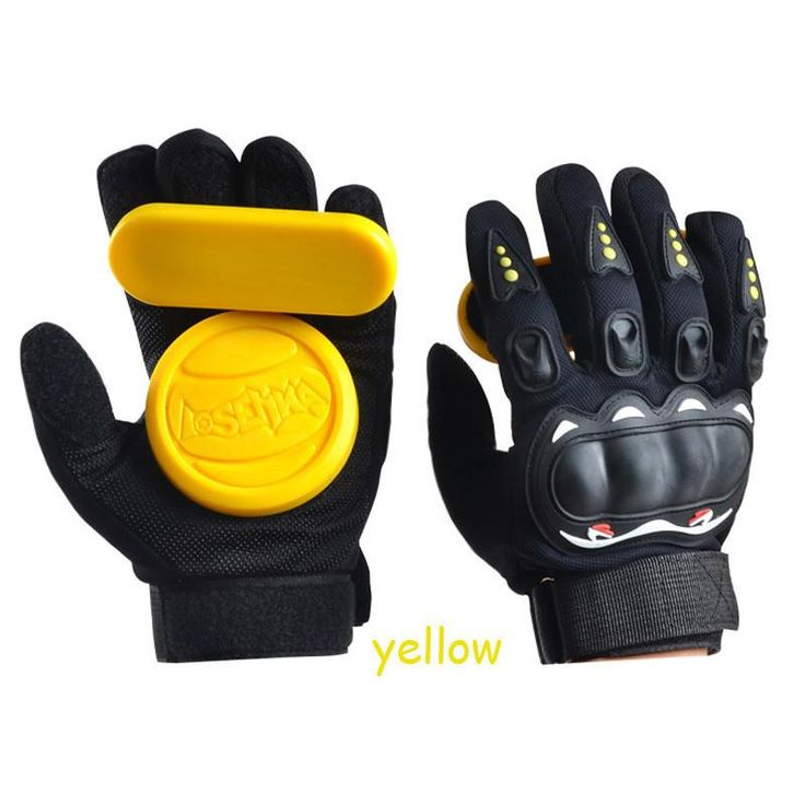 Skateboard Longboard Slide Gloves With Slider Professional Protective Gloves For Skating