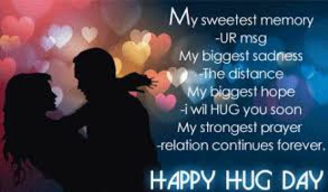 Happy Hug Day Whatsapp Facebook Status:- If you are looking for Hug Day Status, Hug Day Whatsapp Status, Hug Day Facebook Status, Hug Day 2016, Happy Hug Day, Hug Day Whatsapp dp, Hug Day Facebook Profile Pics, Hug Day Images, Hug Day Pics, after that you are in appropriate location below you could obtain all… Read More »