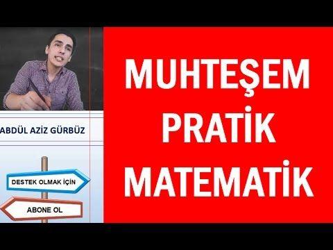 01) PRATİK YOLLAR | Matematik-Geometri | KPSS-YGS-LYS-ALES-DGS-TEOG-ÖABT...