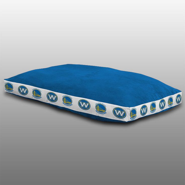 """NBA GOLDEN STATE WARRIORS BASKETBALL DOG BED 26"""" x 37"""" #Sports #PetBed"""