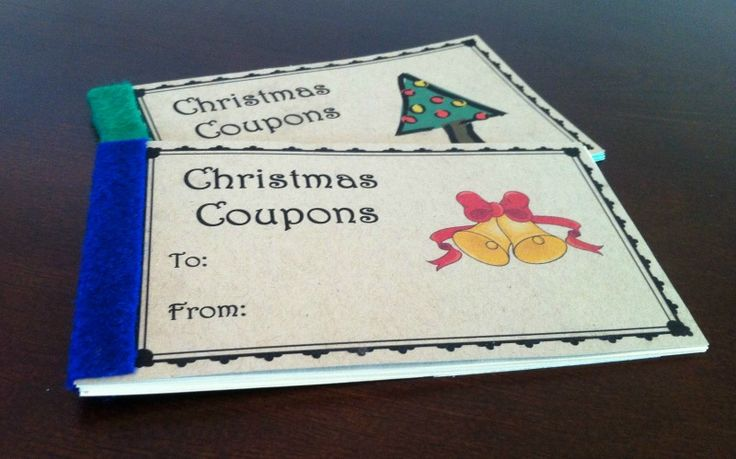 Are you looking for a fun and inexpensive gift idea? Check out these printable Christmas coupons books, there are printables for parents to give to their kids, and also a coupon booklet to give another adult.