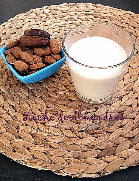 Cocinax2. Las recetas de Laurita.: Leche de almendras (paso a paso) THERMOMIX
