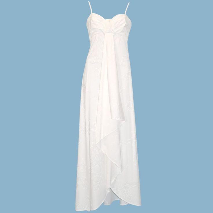 ulu pele hawaiian beach wedding dress - Alohaz