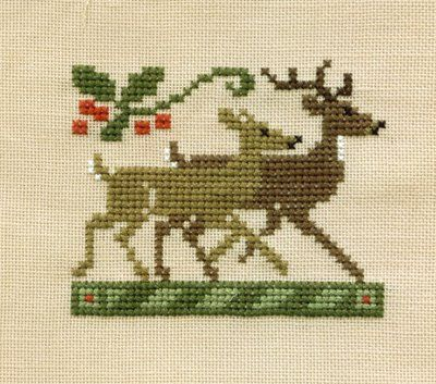 Anita's Stitching: November 2006 This is from the Just Cross Stitch 1989 Ornament issue. It is a fairly simple and quick stitch.