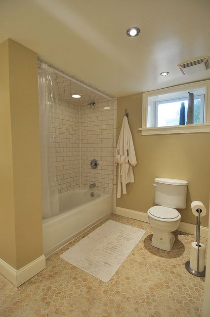 Basement Tub : basement windows basement Basement Renovation Pinterest Bathroom ...