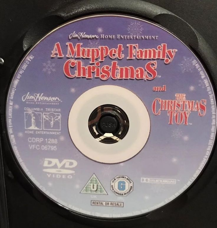 A MUPPET FAMILY CHRISTMAS DVD Full UNEDITED Movie Uncut + The Christmas Toy rare