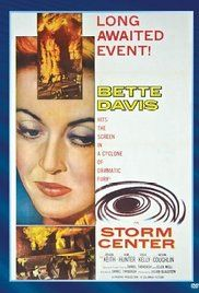 Storm Center, 1956, Bette Davis.