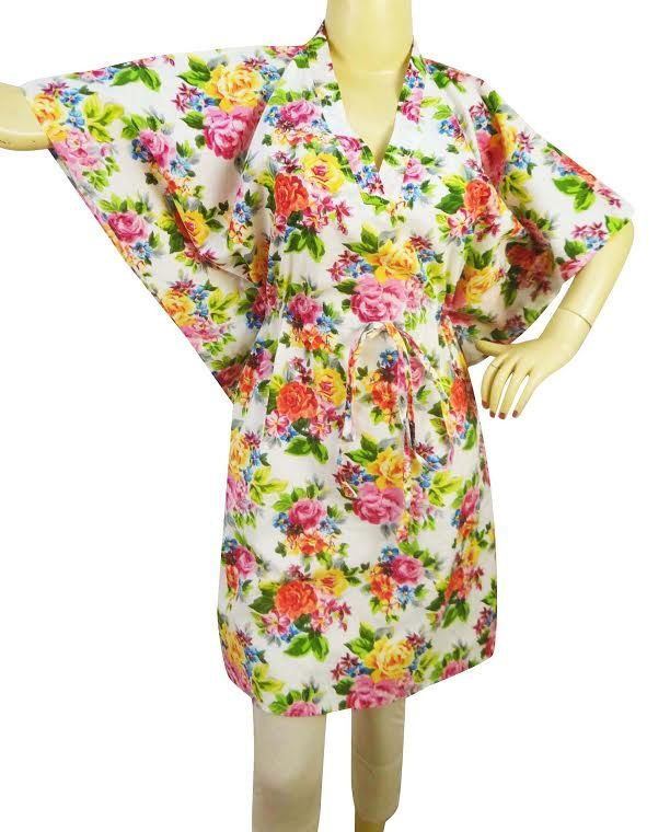 Pleasant colors hippie kafthan Dress Kafthan Caftan FREE or PLUS SIZE Gift for her mini summer dress- sleep wear robe Cafthan Best seller by colorfuloutlet on Etsy