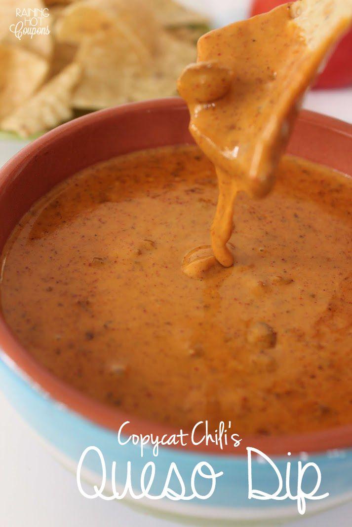 Copycat Chili's Queso Dip