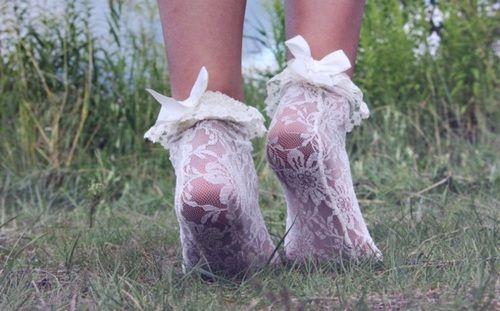 photography pretty cute adorable light fashion lace white style Feet bows nature sweet pastel socks grass pale pretty things pastel blog pale blog pale grunge paleness beautifu
