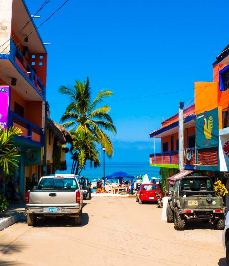 The colorful streets of #Sayulita #Mexico