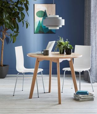 Buy Round Oak Dining Table From The Next UK Online Shop