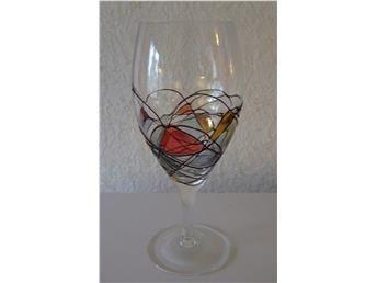 Kristall glas.   Crystal glass.