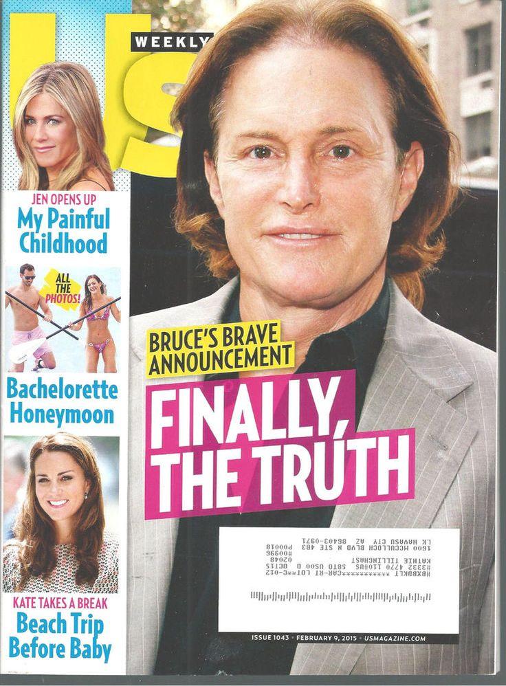 Bruce Jenner Duchess Kate Jennifer Aniston Bachelorette US Magazine Feb 9, 2015