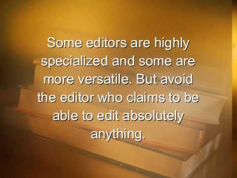 Book-Editing  Fallacies & Facts: an introduction to what editors do and do not do for book writers