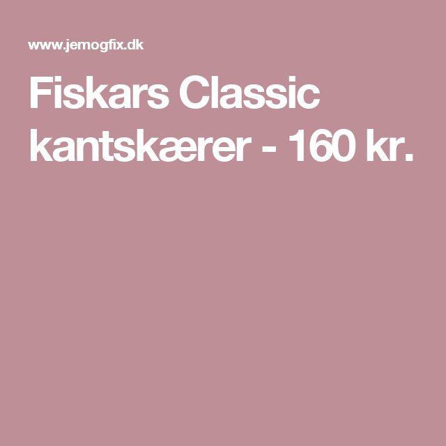 Fiskars Classic kantskærer - 160 kr.