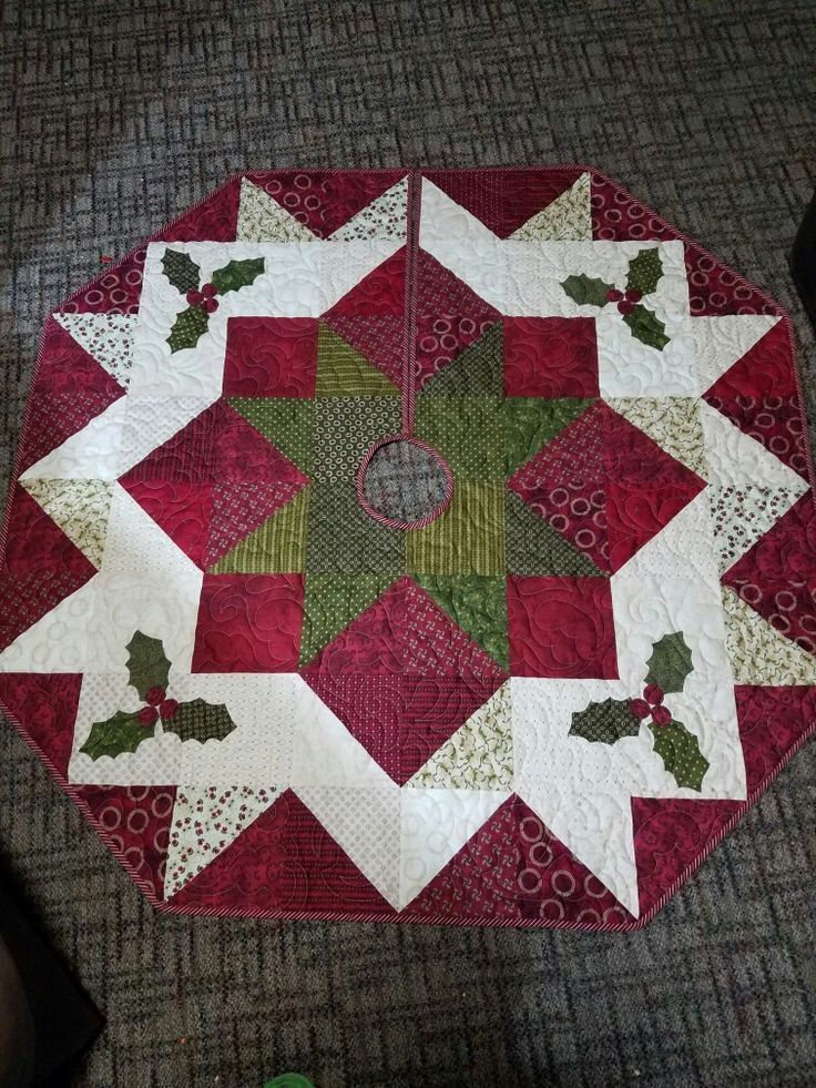A Christmas Tree Skirt Pattern You'll Sew and Love