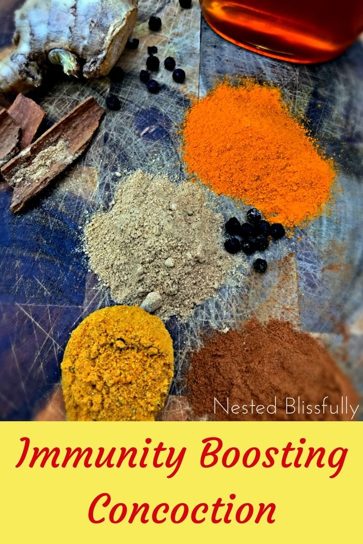 Natural remedy for cold and flu. Immunity boosting.