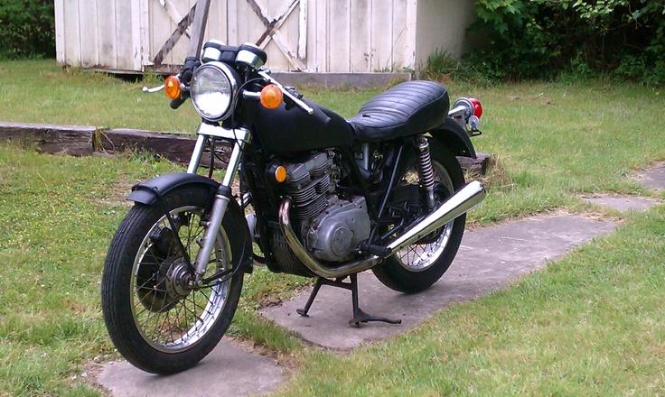 1973 Yamaha TX500 - A true cafe classic.