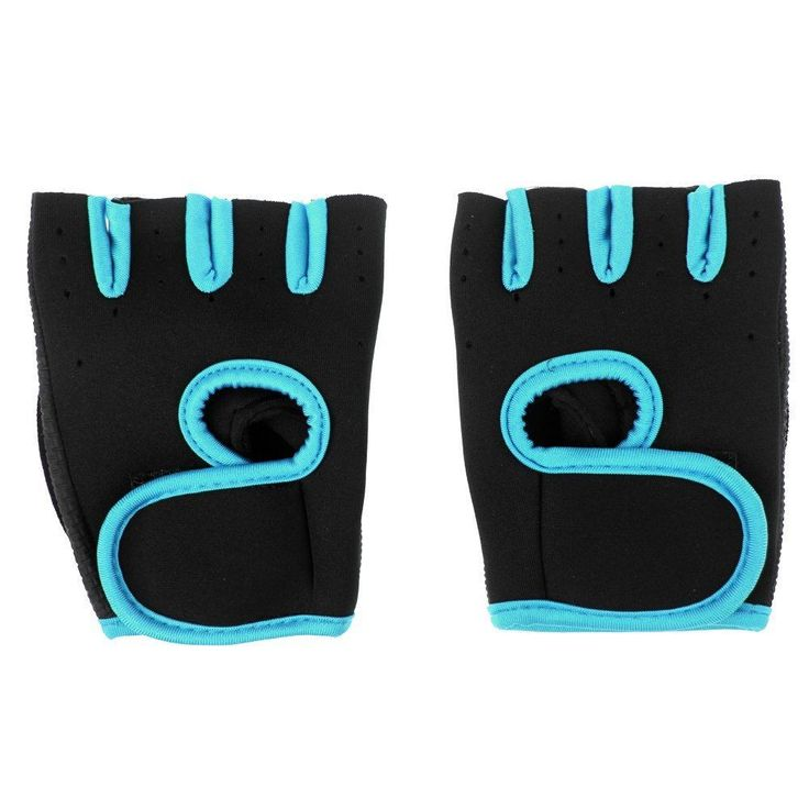 - GYM Weight Lifting Gloves Health Fitness Dumbbell Training Workout Sports Gloves - Using telescopic material - Easy to wear - Good permeability - In the palm of glove places with a rubber antiskid m