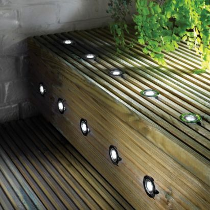 deck lighting kit pack of 10 led deck lights deck lighting spot lights
