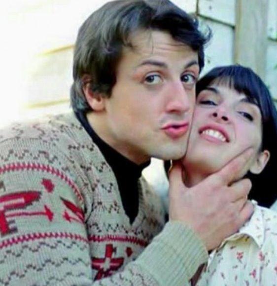 Rocky Balboa & Adrian ❤ Sylvester Stallone and Talia Shire In Rocky