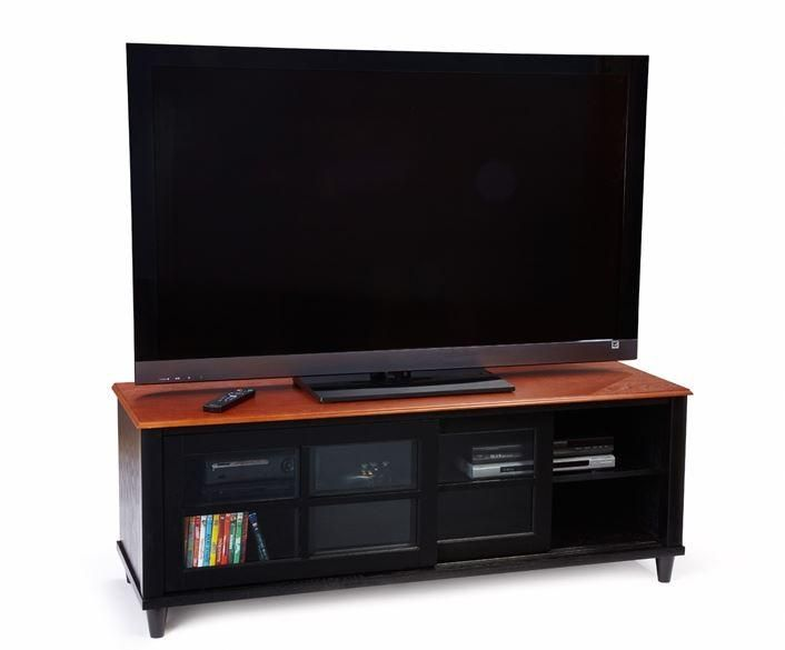 60 inch tv cherrywood entertainment center | ... Cherry TV Stand Wood Entertainment Console Up2 60 Inch Flat Lcd/Plasma