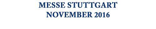 """05.11.-06.11. """"wir heiraten!""""Die #Hochzeitsmesse #Stuttgart """"Neue Messe Stuttgart, ICS, Halle C2, Stand P10"""" 18.11.-20.11. eat&style: Erleben Sie Genuss live! Besuchen Sie uns auf unserem Messestand """"Neue #Landesmesse #Stuttgart, Halle 7, Stand E28"""""""
