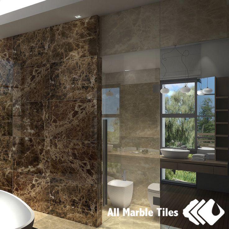 Modern Bathroom Tiles Pinterest : Dark marble bathroom google search design