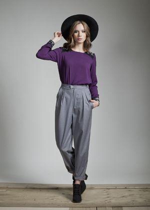 Freyr blouse and Deven pants www.jenniferglasgowboutique.com