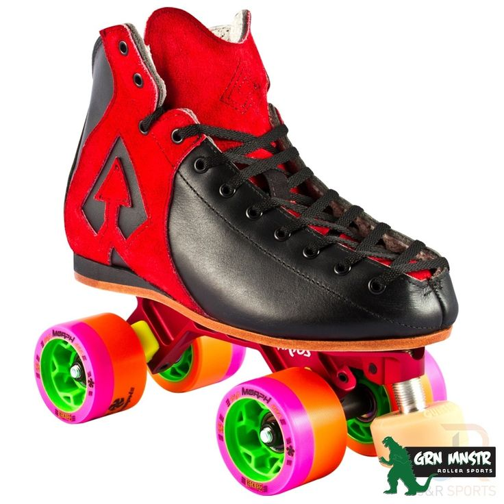 #Antik Skates Antik AR1 Hurricane Roller Derby Skate Package Red #The AR1 boot comes in both full and half sizes.Once your order is placed we will contact you to confirm your boot size.Antik Hurricane Skates combine the best boot Antik has to offer with the best plate from PowerDyne - the revolutionary Arius. Full grain leather uppers with contrasting suede accents, the AR1 is supremely comfortable and built to perform. The lightweight Arius features new butterfly cushion technology for…