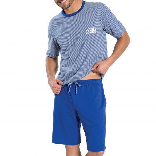 Un pyjama homme court Athéna idéal pour les nuit d'été