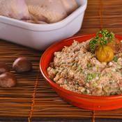 Farce aux marrons - une recette Fête - Cuisineroty