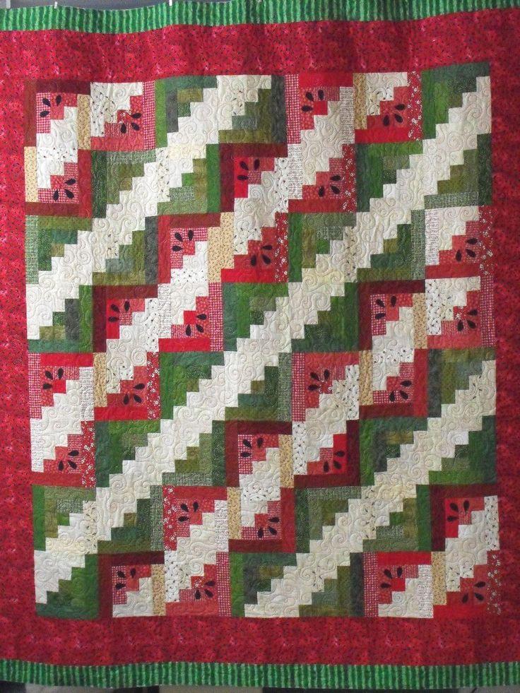 99 best Watermelon Quilts images on Pinterest | Watermelon quilt ... : watermelon quilt pattern - Adamdwight.com