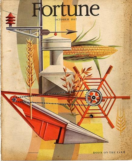 October '47 - Fortune Magazine Cover