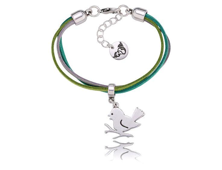 By Dziubeka! #jewelry #Bydziubeka #animal #bird #bracelet