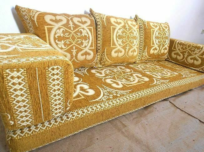Details About Arabic Turkish Sofa Oriental Set Majlis Kilim Floor