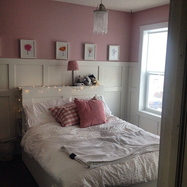 Sophieu0027s New Bedroom  Paint Colour (Benjamin Moore)  Kept Love Letters, Light  Fixture Soder Pendant Lamp (Ikea), Bed (with Drawers Underneath) Brimu2026
