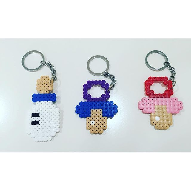 Baby items hama beads by  aeliaperfumes
